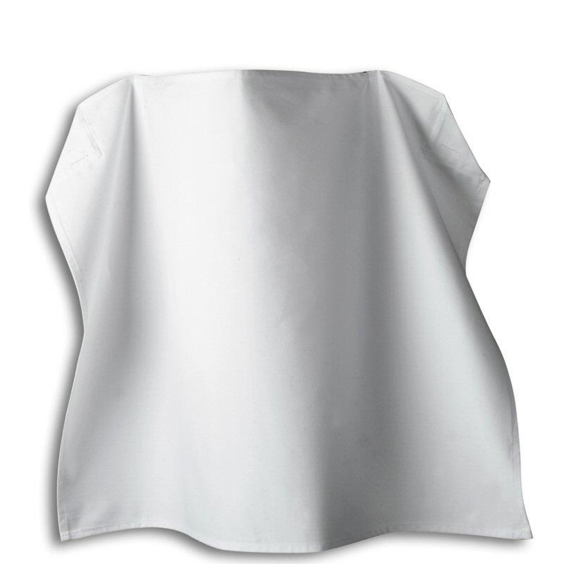 Tibard White Cotton Waist Apron