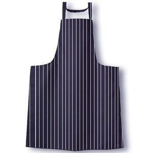 Tibard Navy/White Stripe Butchers Bib Apron