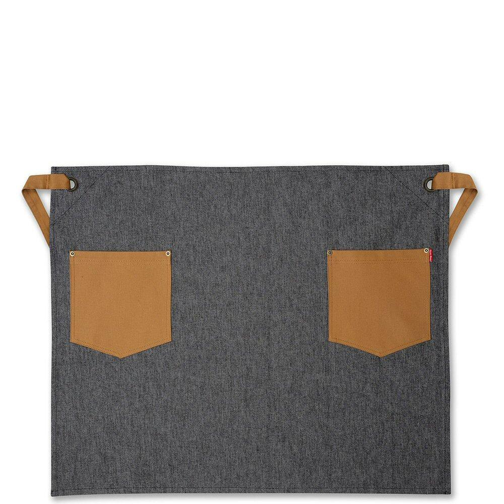 Oliver Harvey Black Denim Waist Apron