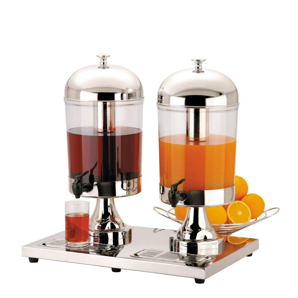 Double Capacity Juice Dispenser with two 8 Litre Containers