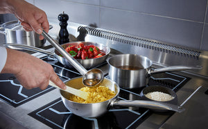 de Buyer Prim'Appety Rounded Stainless Steel Saute Pan