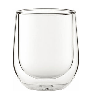 Utopia Double Walled 9.7oz Latte Glass