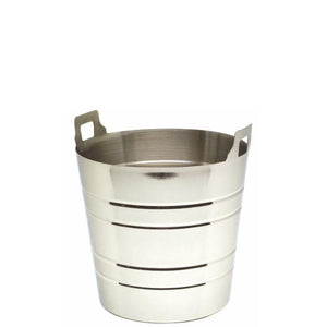 Wine Bucket with Integral Handles Stainless Steel