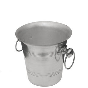Aluminium Champagne Bucket with Ring Handles