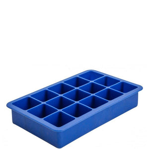 "15 Section Blue Silicone Ice Mould 1.25"" Cube"