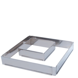 de Buyer Expandable Stainless Steel Square Frame