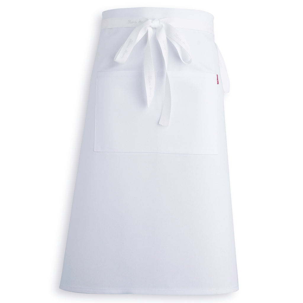 Oliver Harvey White Waist Apron