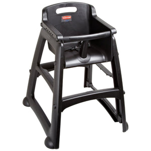 Rubbermaid Sturdy High Chair Black
