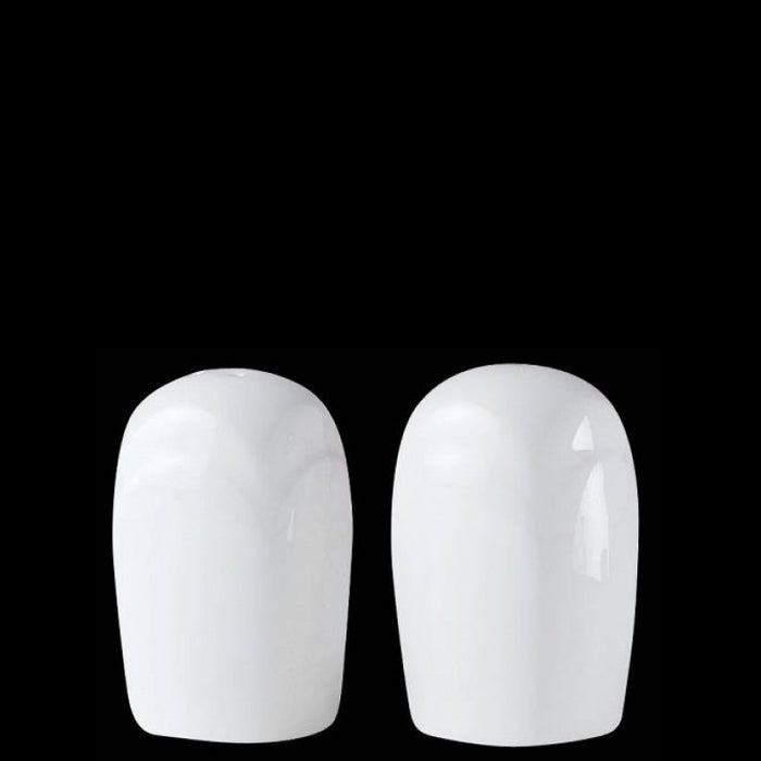 Steelite Bianco Salt & Pepper Pots