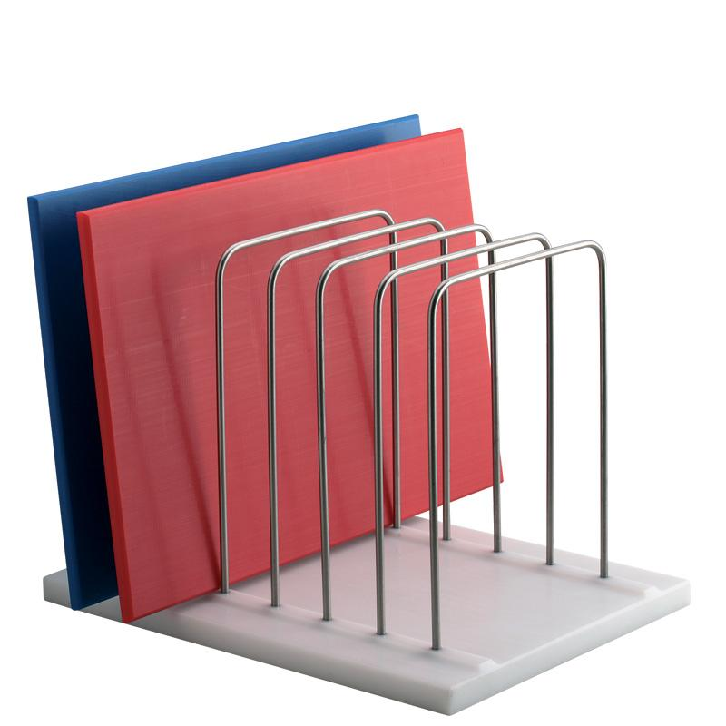 Poly Base Six Slot Chopping Board Rack