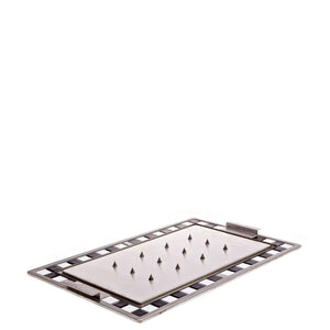 Primeware 1/1 GN Spiked Carvery Hot Tray with Black & White Mosaic