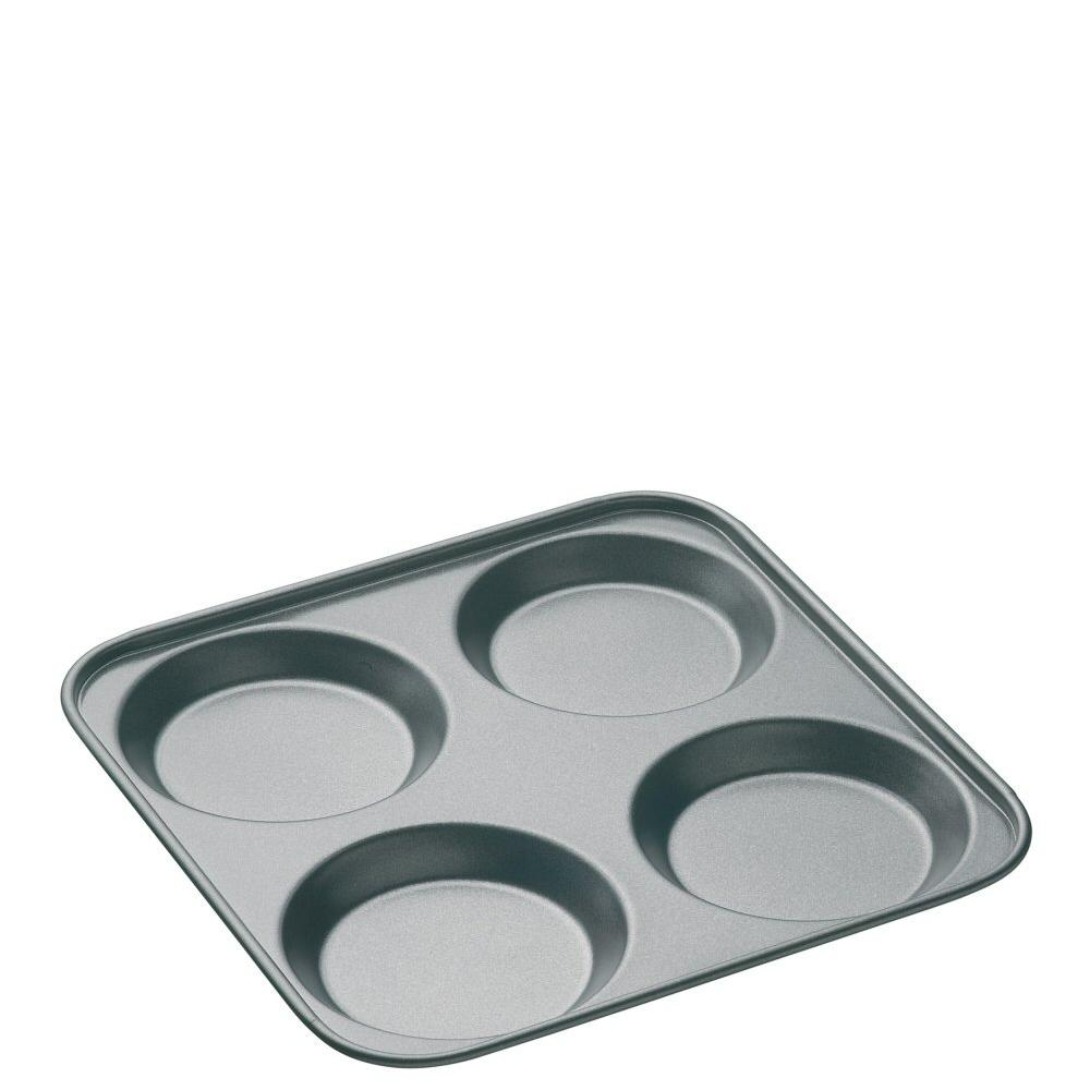 MasterClass Non-Stick Four Hole Yorkshire Pudding Pan