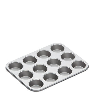 KitchenCraft Non-Stick Twelve Hole Bake Pan