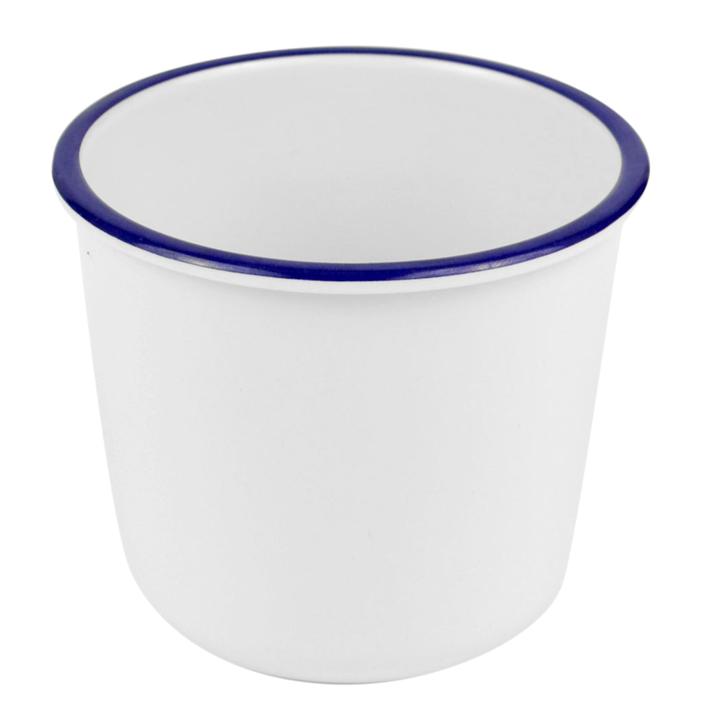 Dalebrook Enamelware Melamine Chip Pot Blue