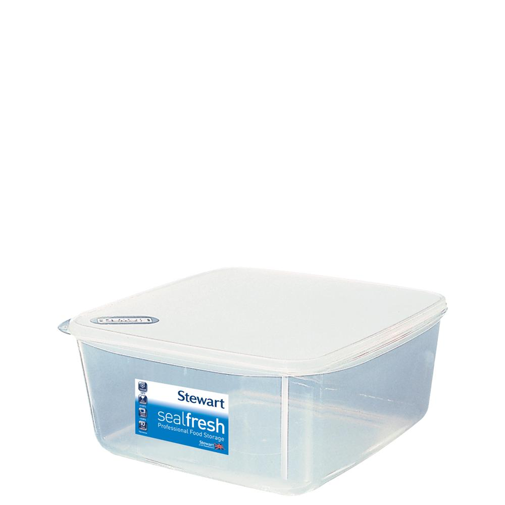 Sealfresh 13 litre Square Food Storer with Lid