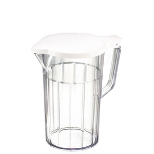 Stewart Clear Plastic Mixer Jug with Lid