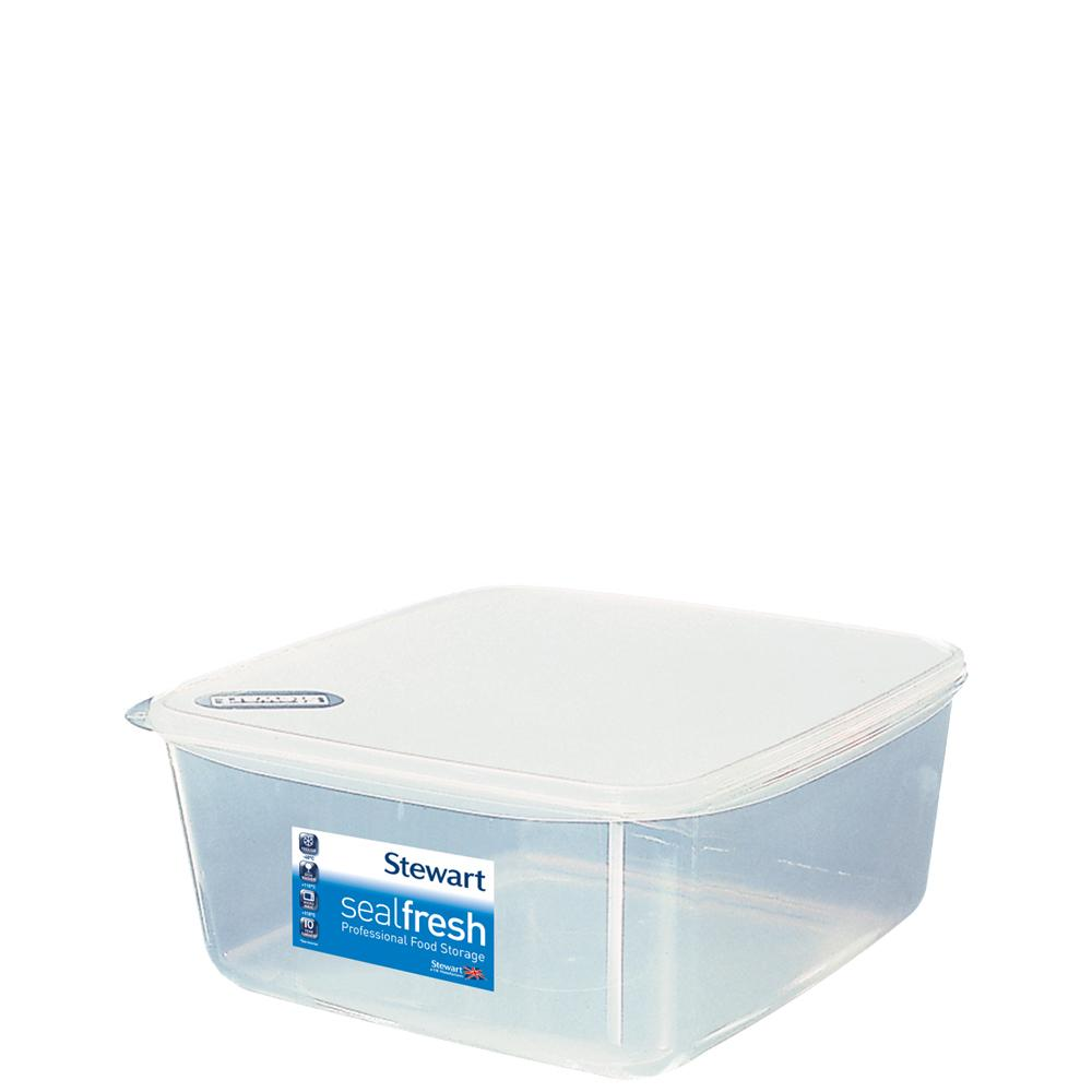 Sealfresh 6.5 litre Square Cake Storer with Lid