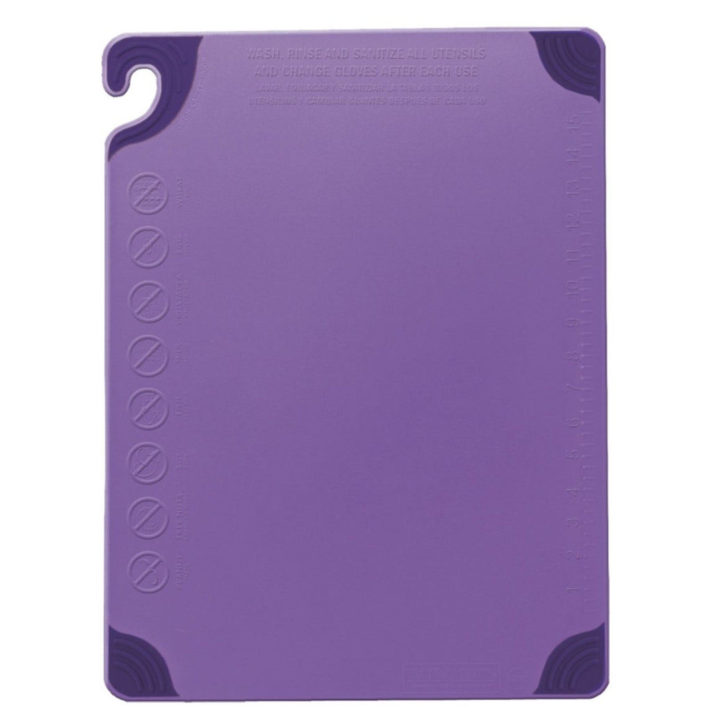 San Jamar Allergen Purple Chopping Board