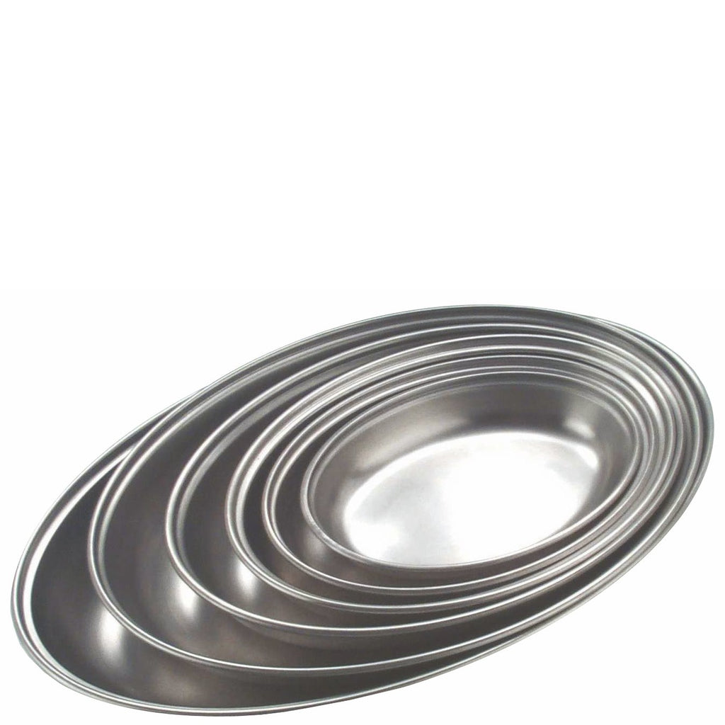 Stainless Steel Vegetable Dish Plain