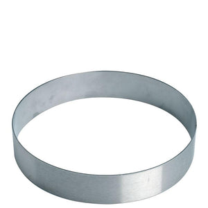 Stainless Steel Flan and Tart Ring