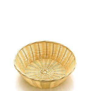 Poly-Rattan 215mm Round Basket
