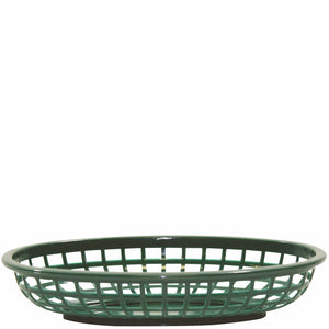 Plastic 240mm Oval Basket Polypropylene