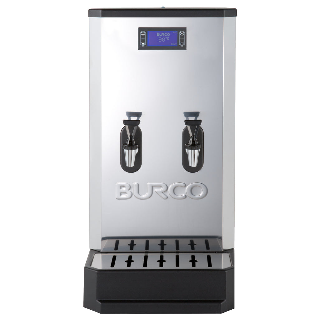 Burco 20 litre Twin Tap Countertop Autofill Water Boiler with Filtration