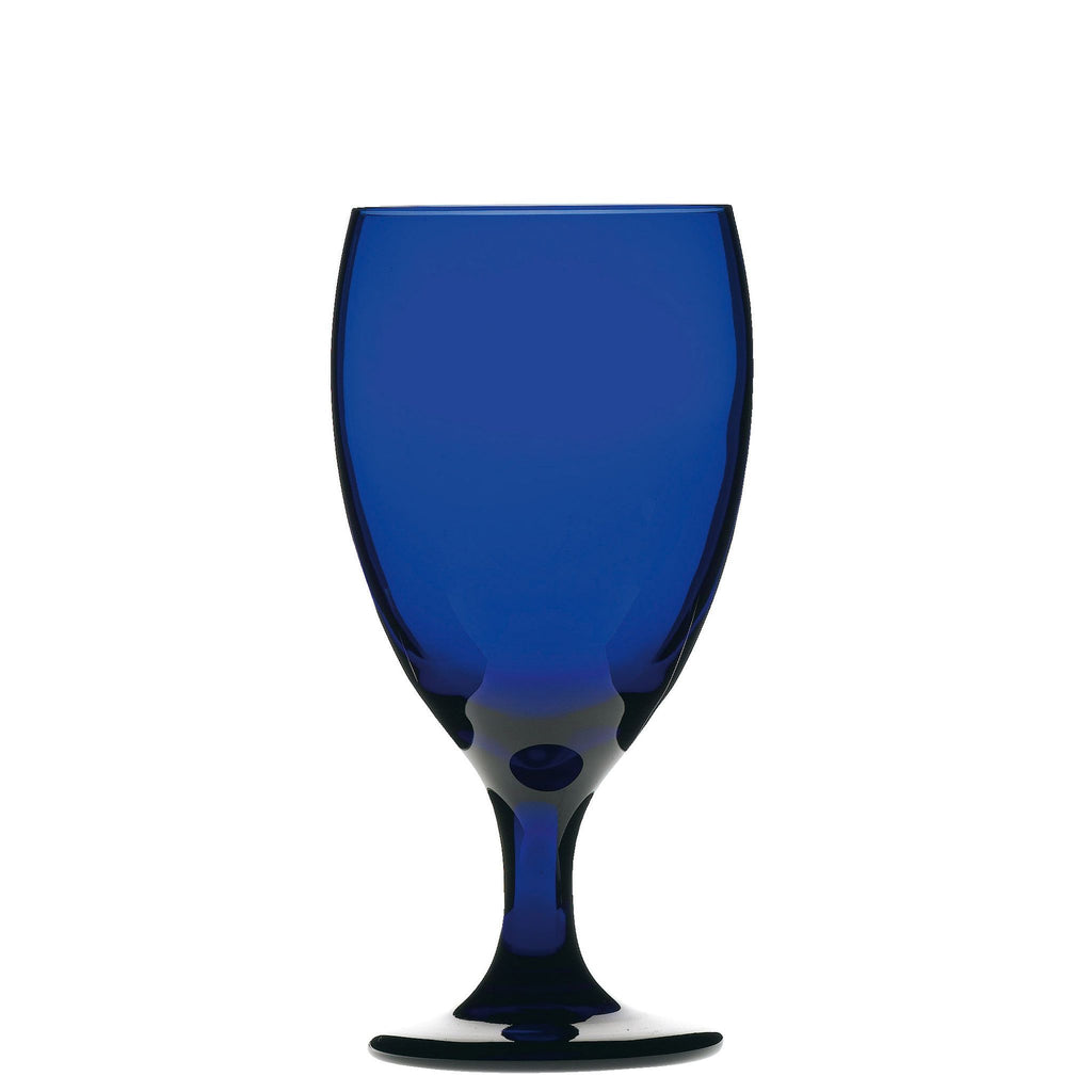 Artis Cobalt Blue Iced Tea Goblet 16oz
