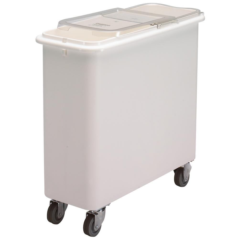 Cambro 102 litre Flat Top Mobile Ingredients Bin with Sliding Lid