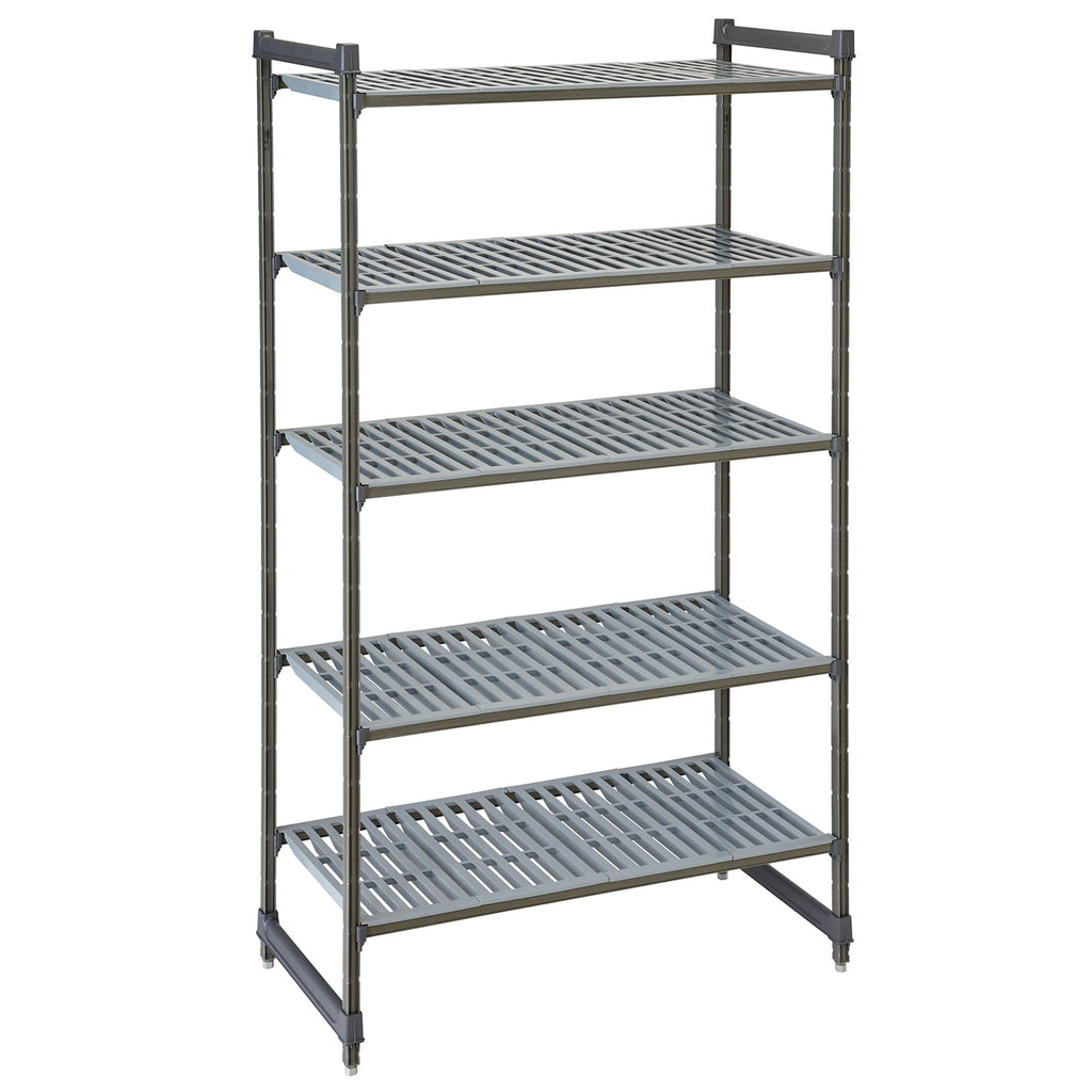 Cambro Basics Plus 4 Tier Shelving Unit