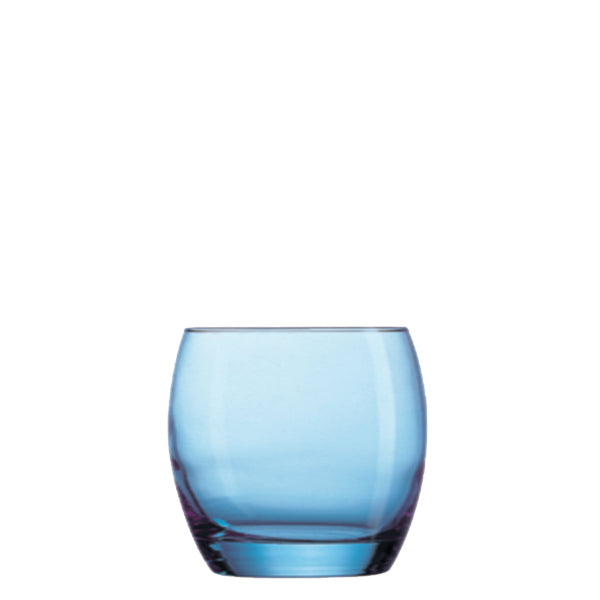 Arcoroc Salto Ice Blue Old Fashioned 11.25oz Tumbler