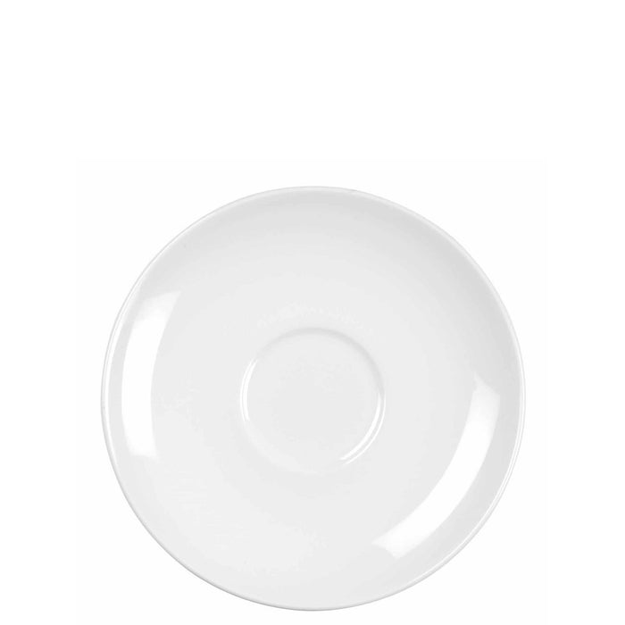 Churchill Alchemy White Coupe Saucer