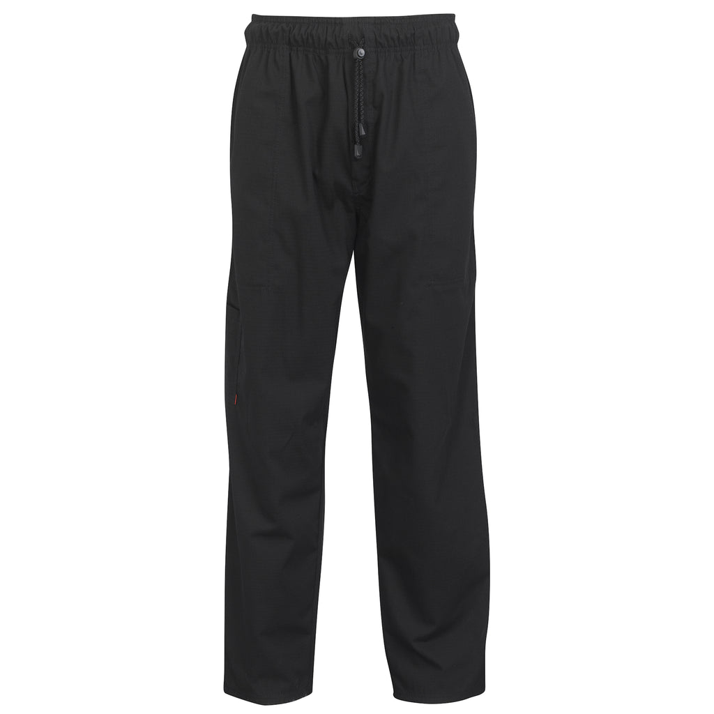 Oliver Harvey Lancashire Black Chefs Trousers