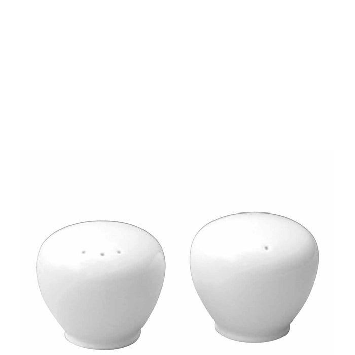 Churchill Alchemy White Salt & Pepper Pots