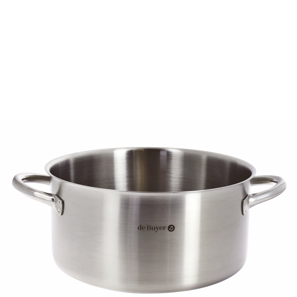de Buyer Prim'Appety Stainless Steel Stewpan