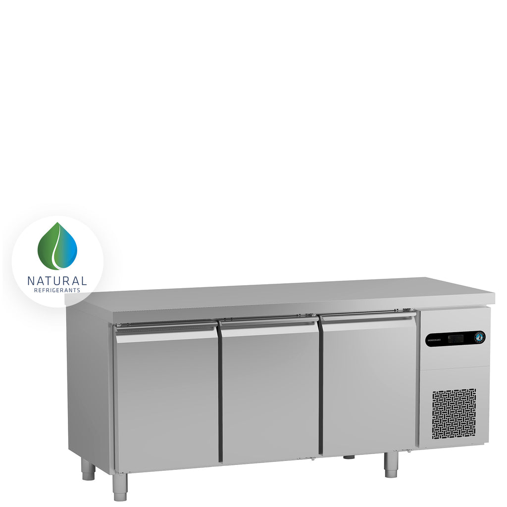Snowflake GII 3 Door Refrigerated Counter SCR-180CG
