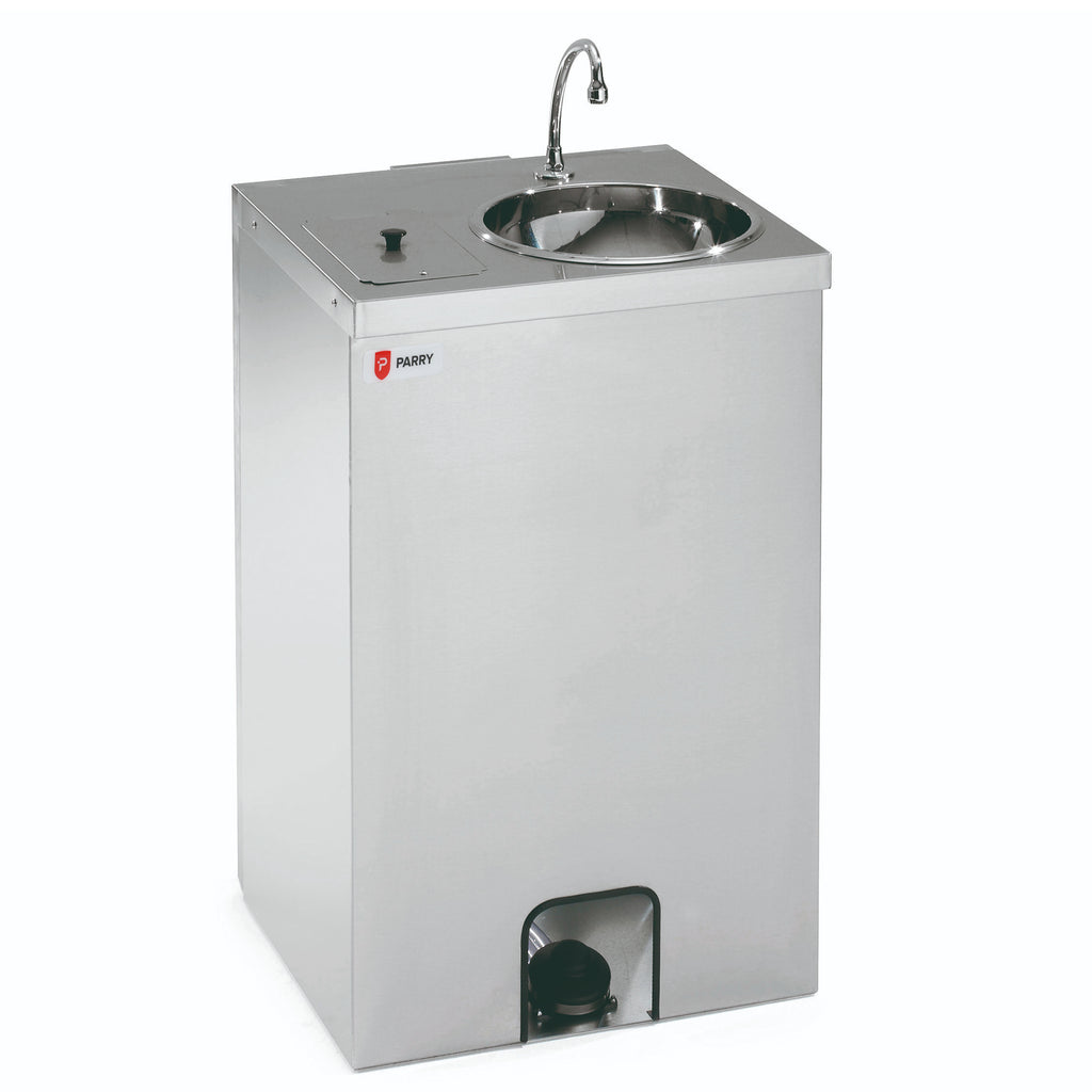 Mobile Hand Wash Unit with Integrated Water Heater