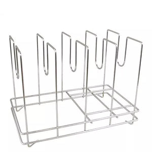 Pizza Screen Rack in Chrome