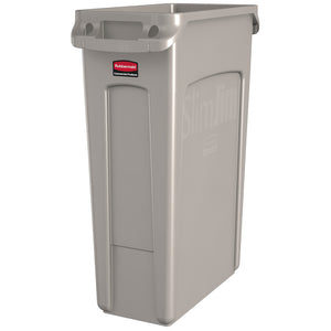 Rubbermaid Slim Jim 87 litre with Venting Channels