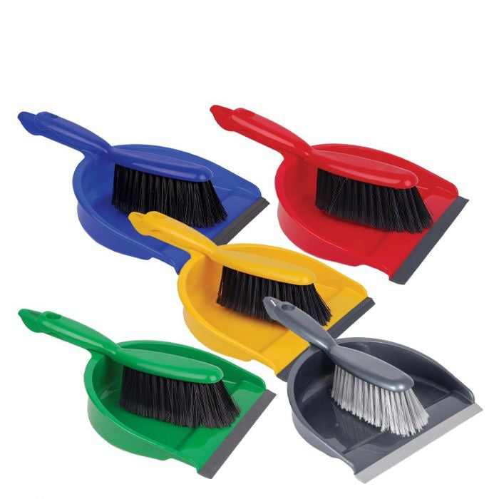 Professional Dustpan & Soft Brush Set