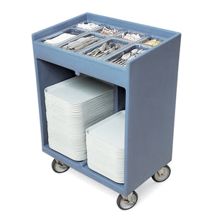 Cambro Combined Tray & Cutlery Trolley