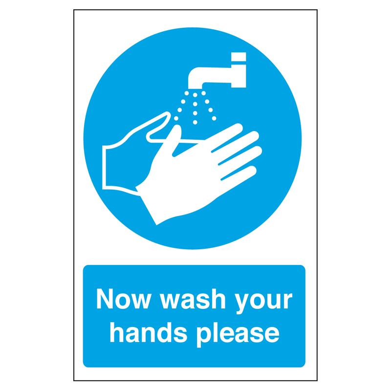 Sign - Washing Hands Symbol