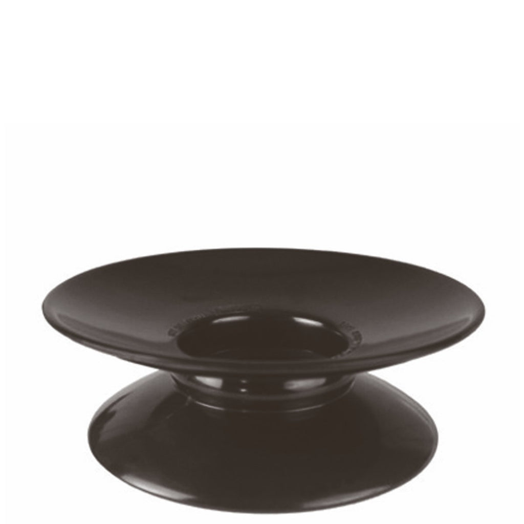 Pedestal Cake Stand in Black Melamine 70mm