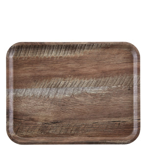 Cambro Madeira Laminated Tray Dark Oak