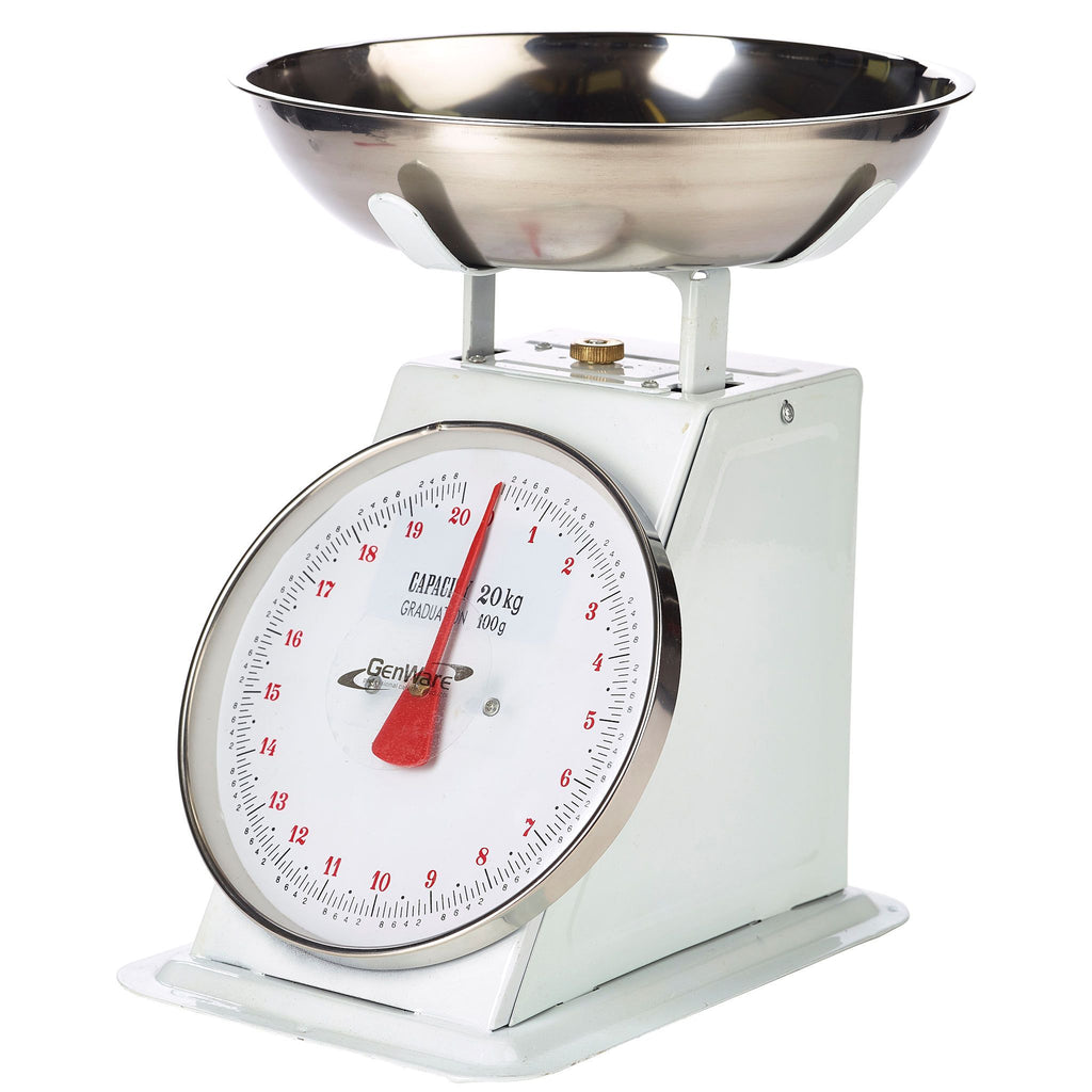 Dial Kitchen Scales - 20kg Capacity