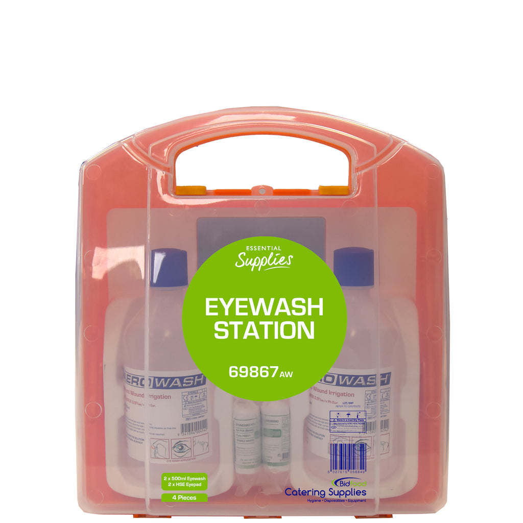 Essential Supplies Eyewash Station