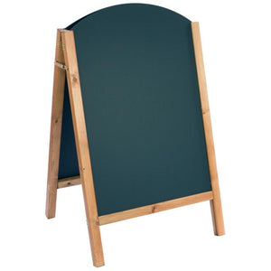 Reversible A-Board Curved Top 110x66cm