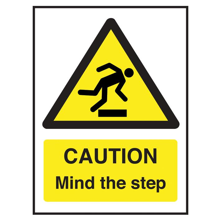 Sign - Caution Mind The Step