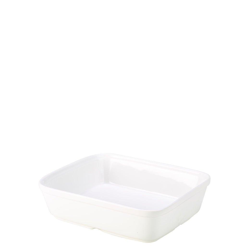 Royal Genware White Rectangular Roaster