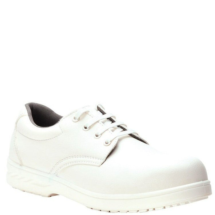 Portwest Shoe 4 Eyelet Washable White